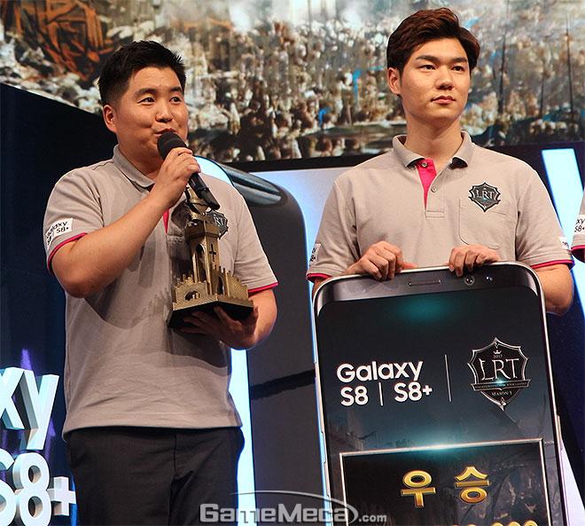 리니지2 레볼루션 토너먼트 우승 혈맹 '엔틱'의 군주 이미지