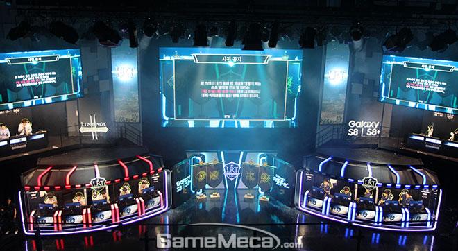리니지2 레볼루션 토너먼트 와일드카드전 현장 이미지