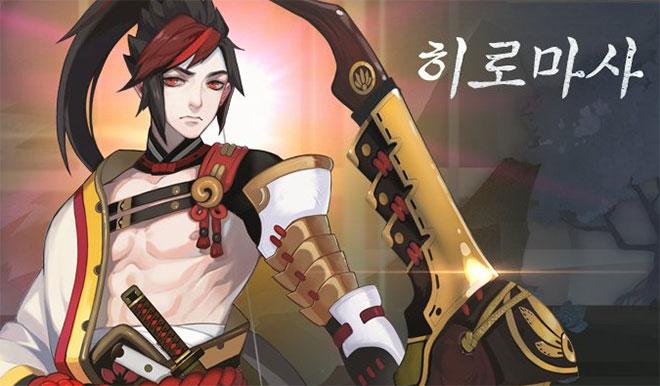 음양사 for kakao 캐릭터 소개 히로마사 이미지