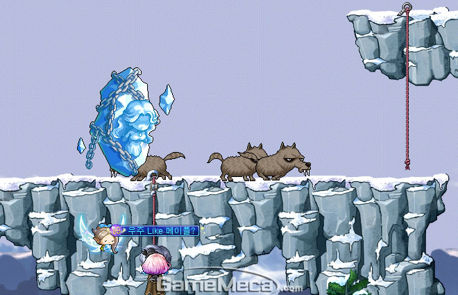 메이플스토리 꿀팁 설산의 마녀 이미지