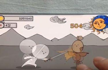 [리얼영상] 4인 청년 개발팀의 방치형 시뮬레이션 게임 '용사님! 던전가요'