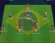 피파온라인4 전술 공략, 챌린지 랭커 Awesome의 브라질 국가대표 스쿼드