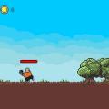 [리얼영상] 도끼를 더 세게 더 멀리 던지자, '나무꾼 히어로'