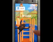 [리얼영상] 사다리를 오르는 아케이드 게임, 'Clumsy Climber'