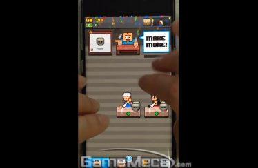 [리얼영상] 한 손으로 즐기는 운영 시뮬레이션, 'Make More!'