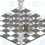 [메카 러브하우스] 가구로 만든 체스판, 창의력 넘치는 '시설 인테리어'