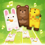 매직 애니멀 피아노 타일: 무료 음악 게임