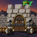 성 지키기의 왕
