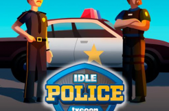 Idle Police Tycoon-경찰 게임