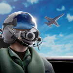 스카이 워리어스: 비행기 전투 게임