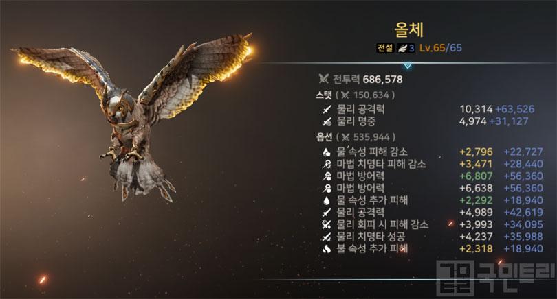 3단계 초월 슈 '올체'도 최고 레벨까지 육성