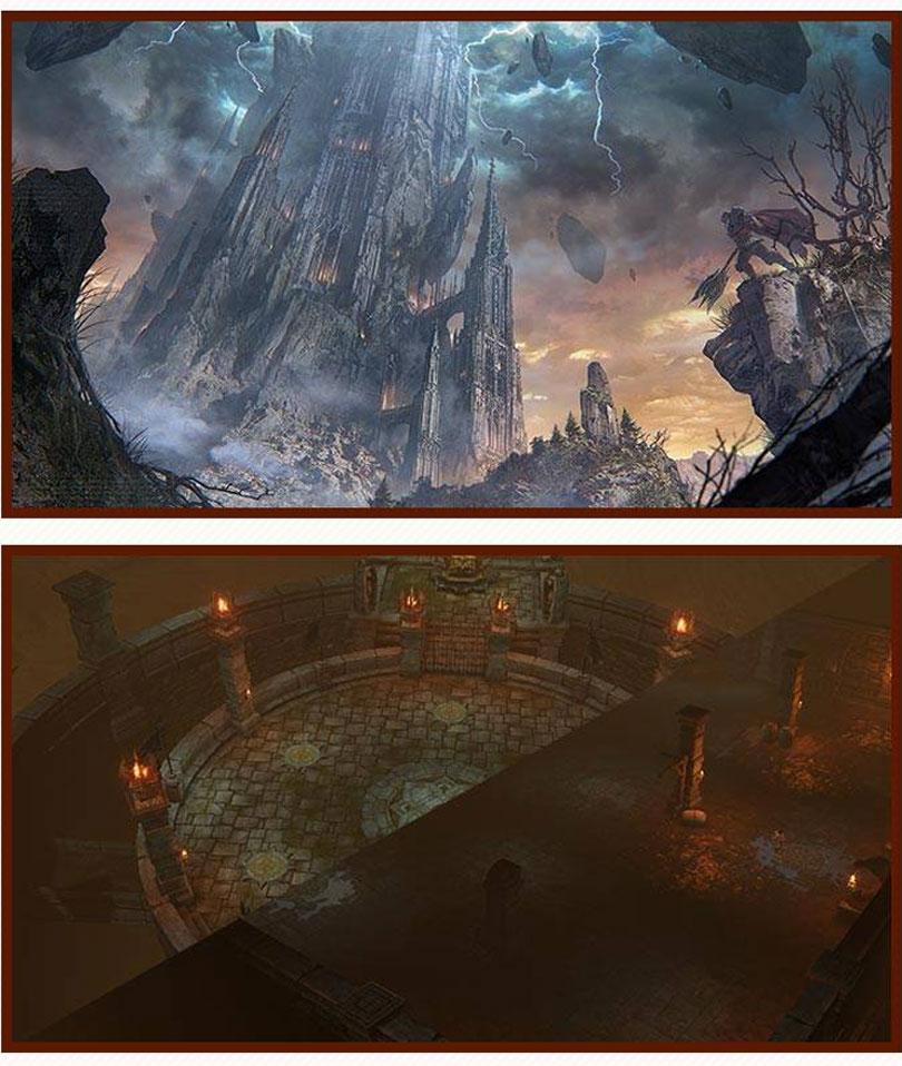 최후의 1인을 가리는 신규 PVP 콘텐츠 '욕망의 탑' (이미지 출처: 넷마블 공식 커뮤니티 갈무리)